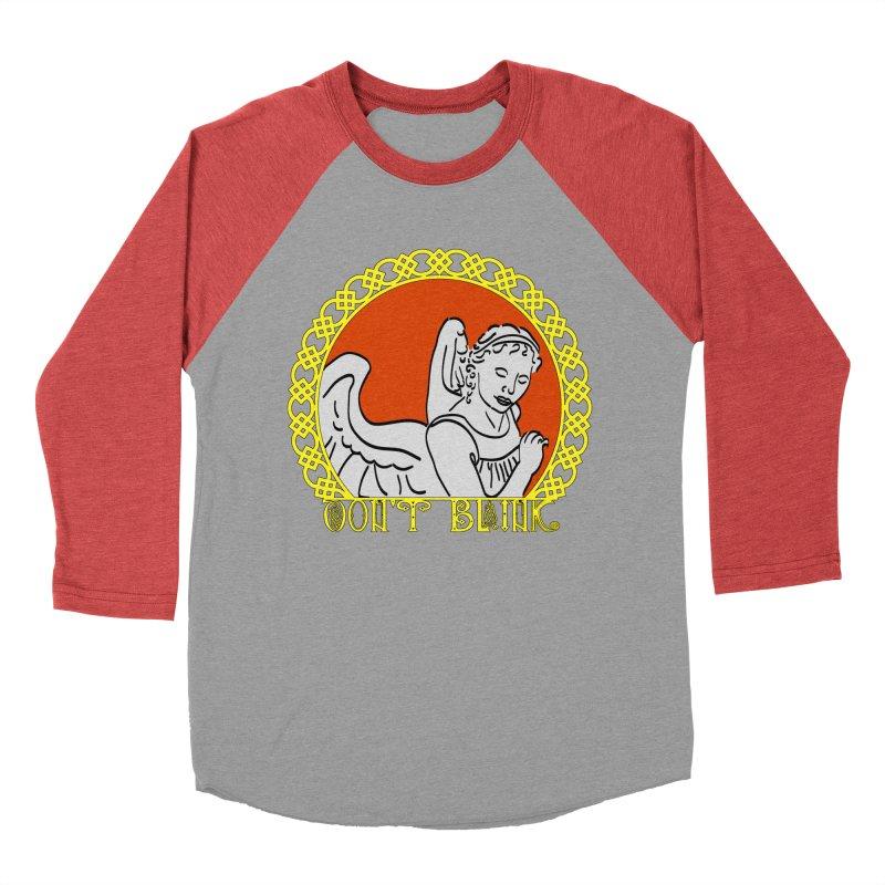 Angel Knot Men's Baseball Triblend Longsleeve T-Shirt by Magickal Vision: The Art of Jolie E. Bonnette