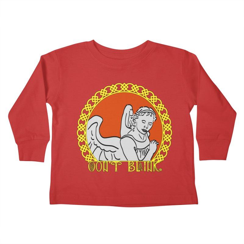 Angel Knot Kids Toddler Longsleeve T-Shirt by Magickal Vision: The Art of Jolie E. Bonnette