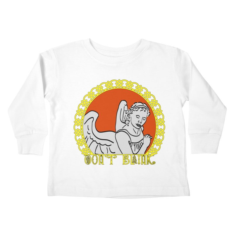 Angel Knot Kids Toddler Longsleeve T-Shirt by Magickal Vision: The Art of Jolie E. Bonnette