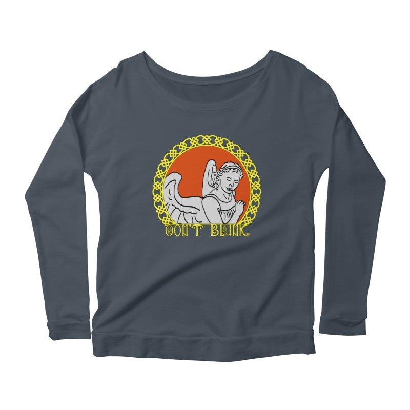 Angel Knot Women's Scoop Neck Longsleeve T-Shirt by Magickal Vision: The Art of Jolie E. Bonnette