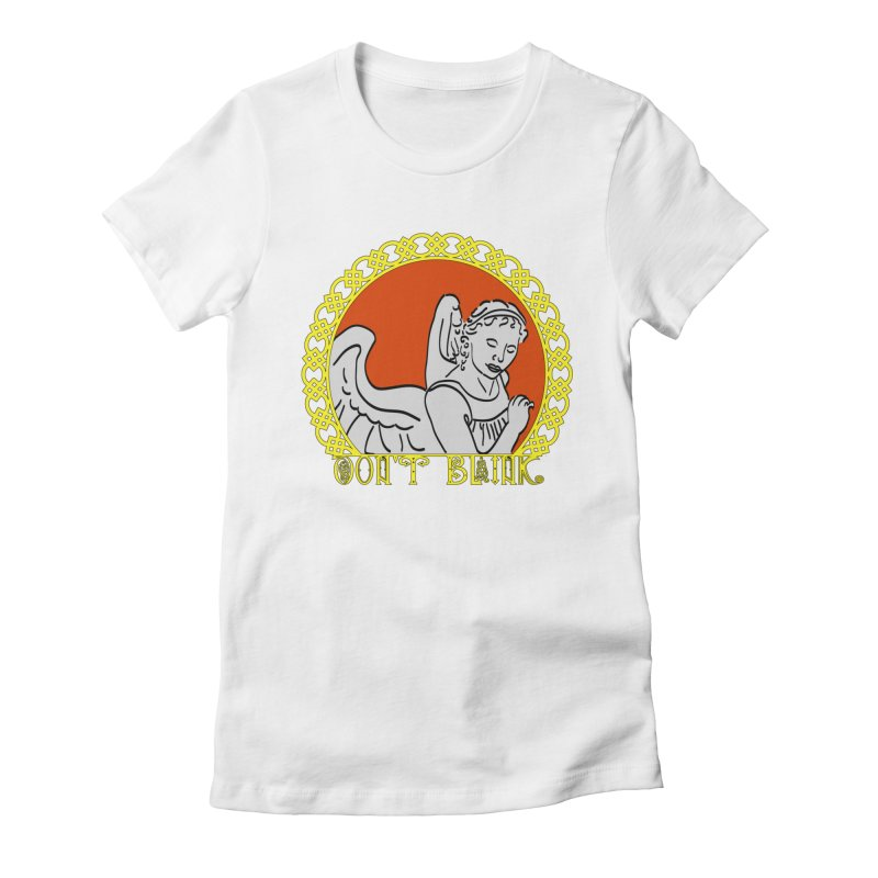 Angel Knot Women's Fitted T-Shirt by Magickal Vision: The Art of Jolie E. Bonnette