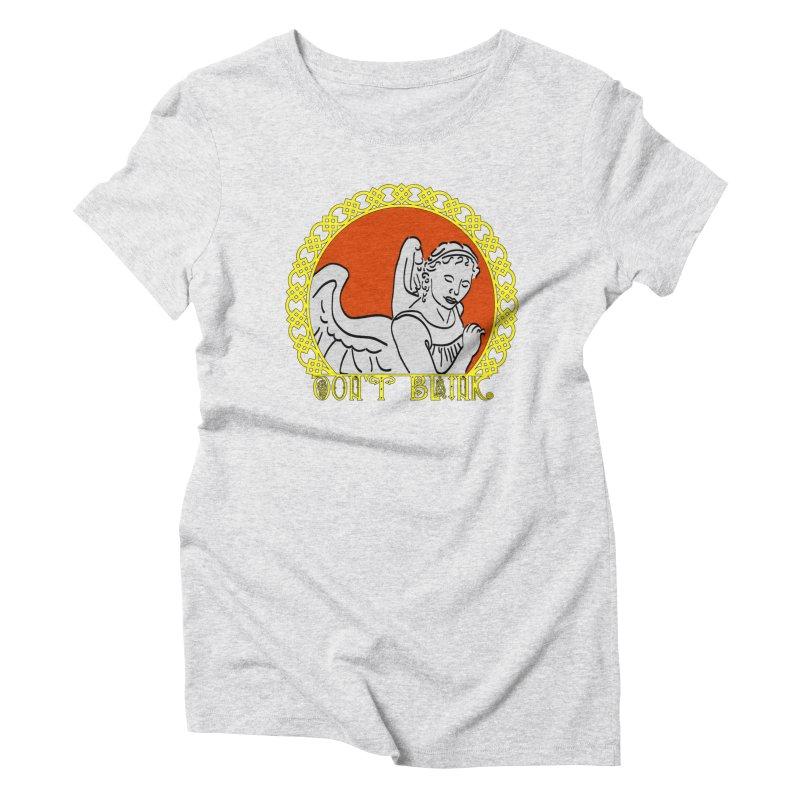 Angel Knot Women's Triblend T-Shirt by Magickal Vision: The Art of Jolie E. Bonnette