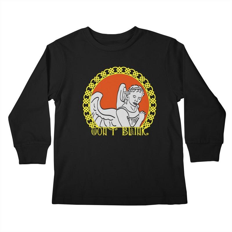 Angel Knot Kids Longsleeve T-Shirt by Magickal Vision: The Art of Jolie E. Bonnette
