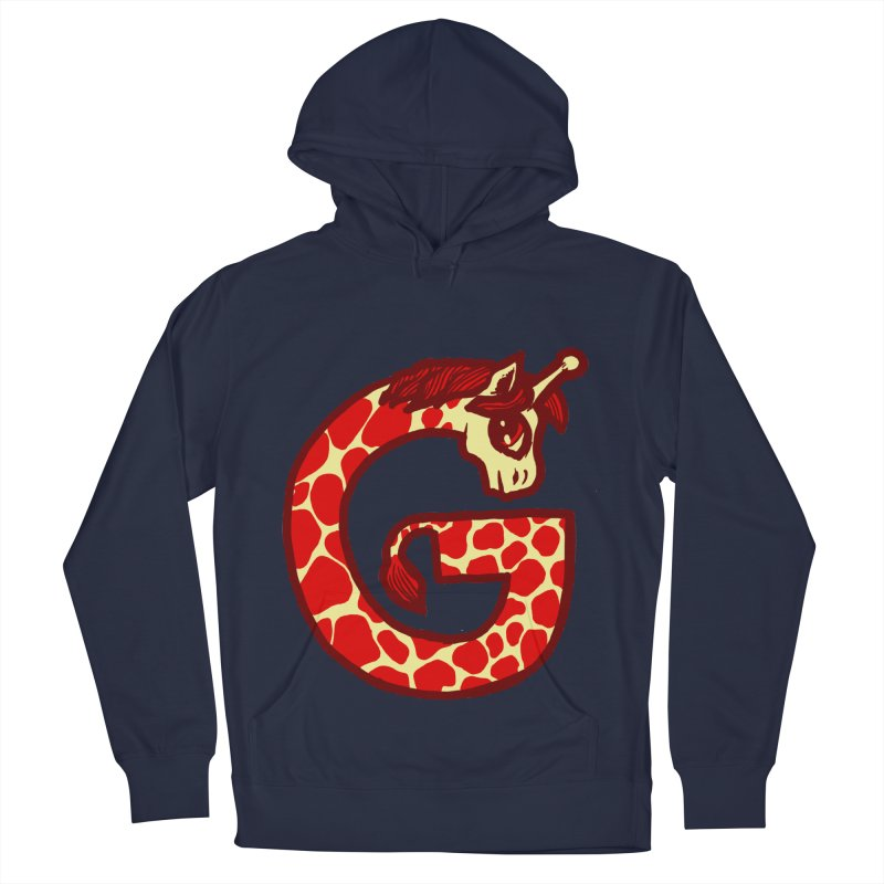 G is for Giraffe Women's Pullover Hoody by Jonah Makes Art