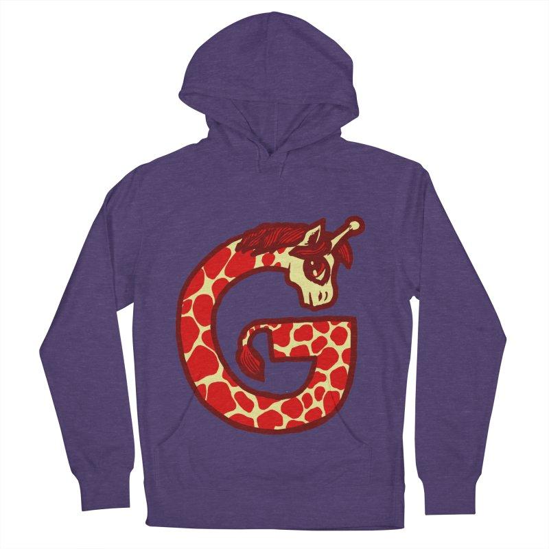 G is for Giraffe Men's Pullover Hoody by Jonah Makes Art