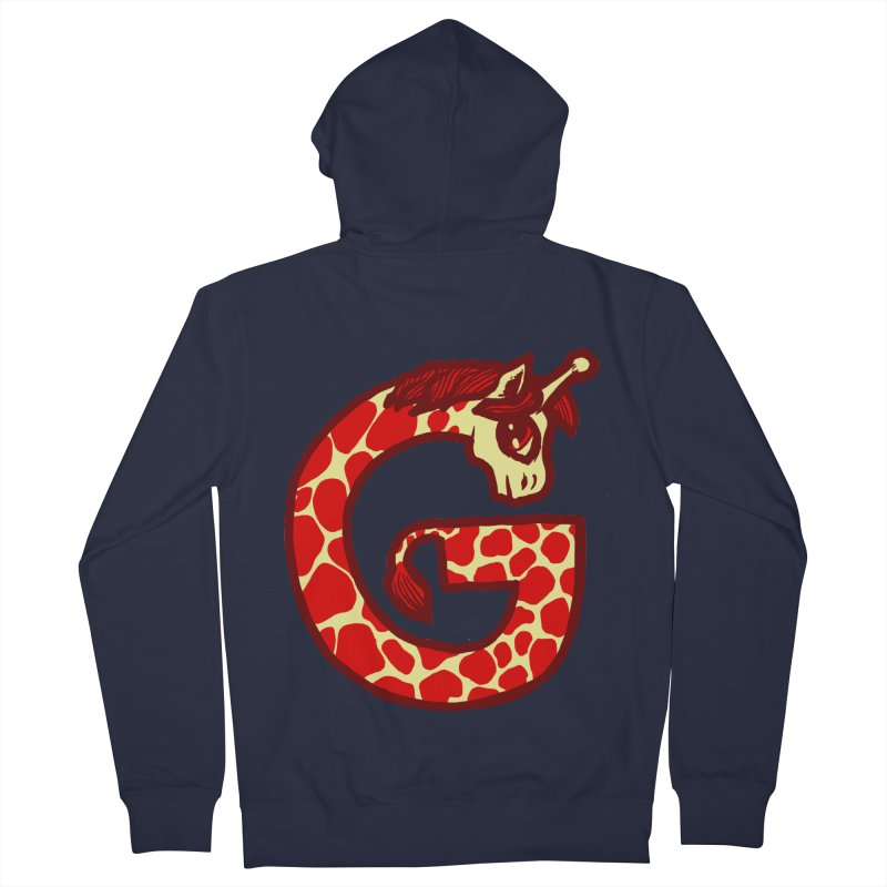 G is for Giraffe Women's Zip-Up Hoody by Jonah Makes Art