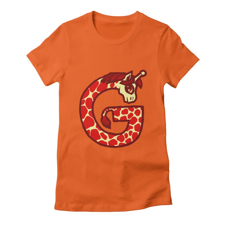 G is for Giraffe   by Jonah Makes Art