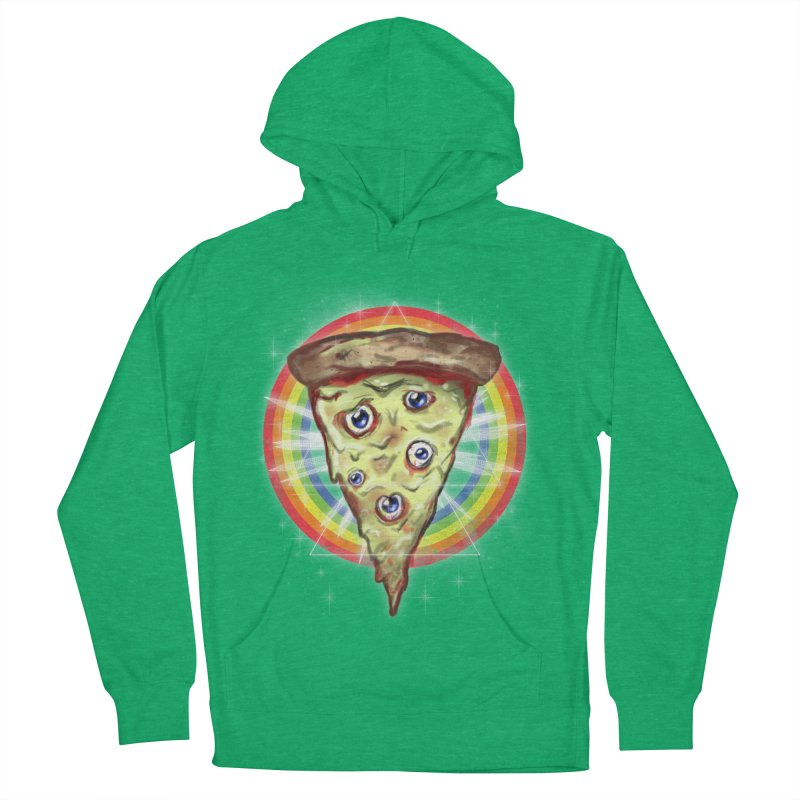 Psychedelic Slice  Women's Pullover Hoody by Jonah Makes Art