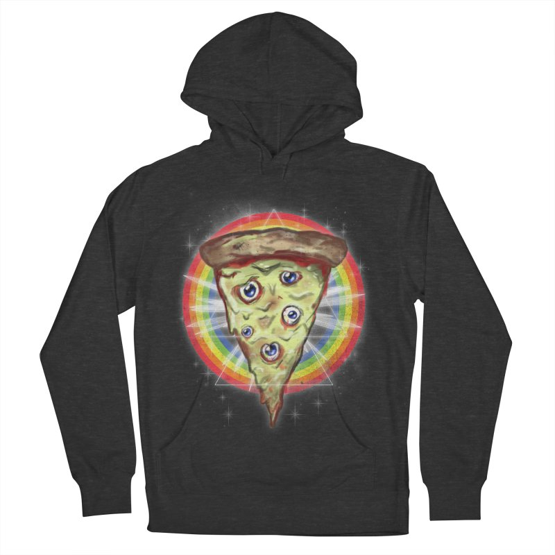 Psychedelic Slice  Men's Pullover Hoody by Jonah Makes Art