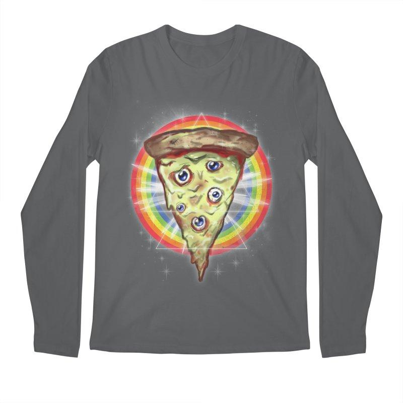 Psychedelic Slice  Men's Longsleeve T-Shirt by Jonah Makes Art