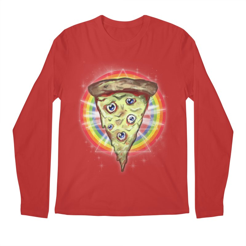 Psychedelic Slice  Men's Longsleeve T-Shirt by Jonah Makes Art