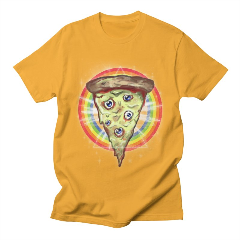 Psychedelic Slice  Men's T-shirt by Jonah Makes Art
