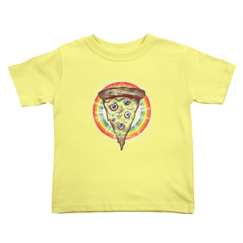 Psychedelic Slice  Kids Toddler T-Shirt by Jonah Makes Art