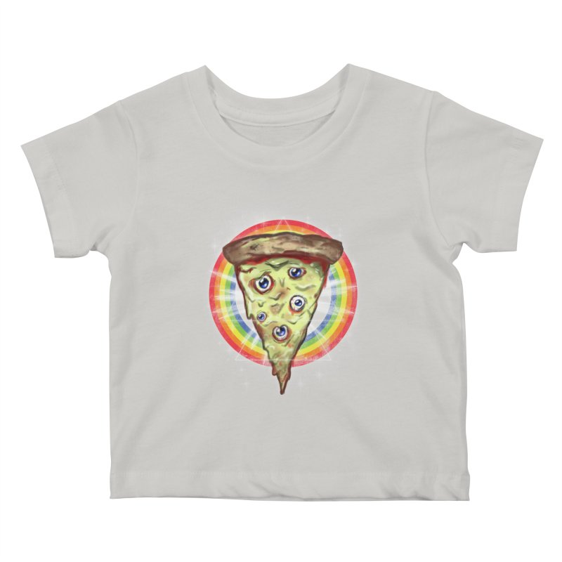 Psychedelic Slice  Kids Baby T-Shirt by Jonah Makes Art