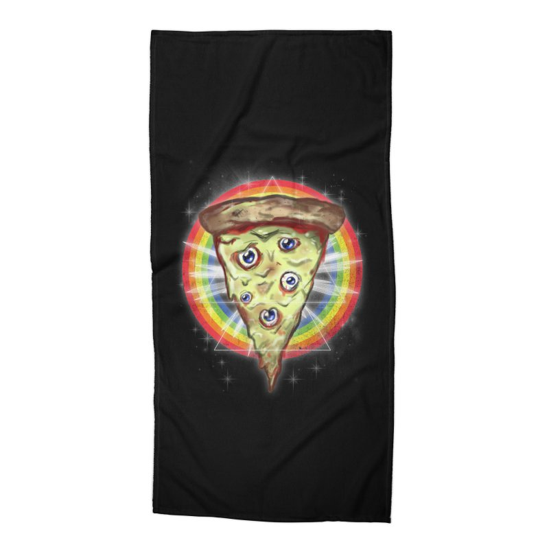 Psychedelic Slice  Accessories Beach Towel by Jonah Makes Art