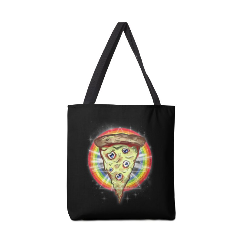Psychedelic Slice  Accessories Bag by Jonah Makes Art