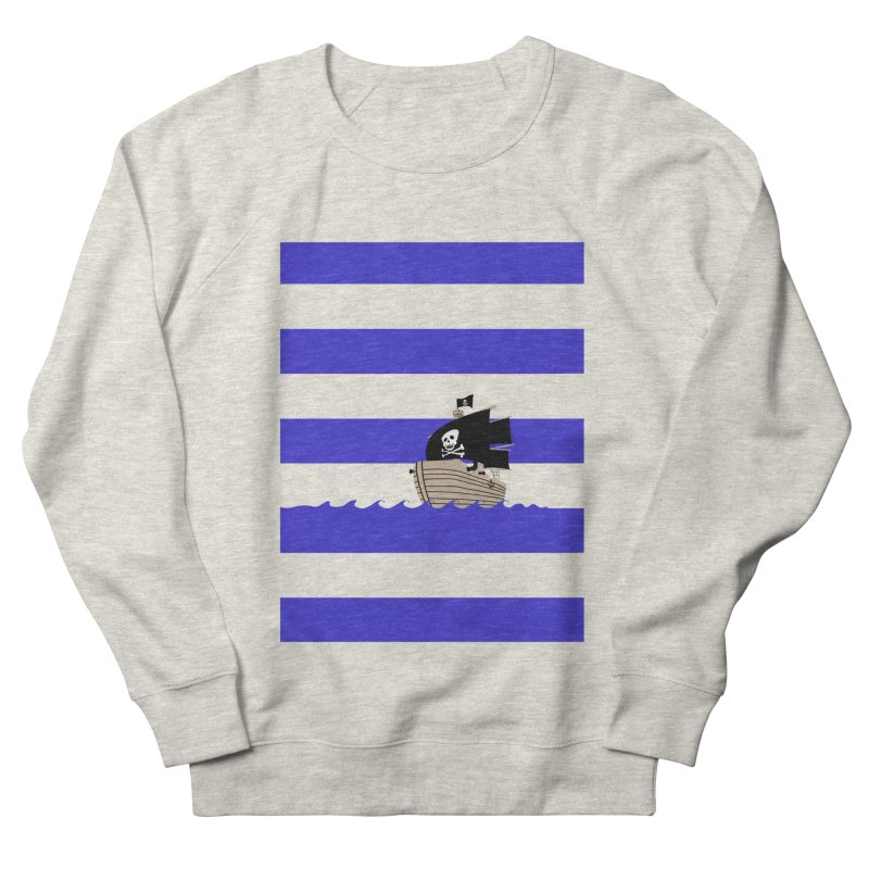 Striped pirate shirt Women's Sweatshirt by Jonah Makes Art