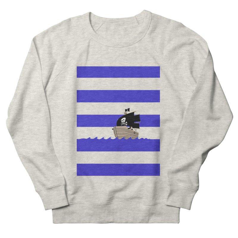 Striped pirate shirt Men's Sweatshirt by Jonah Makes Art