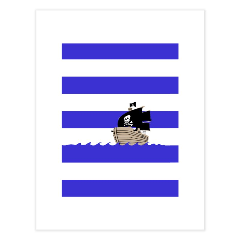 Striped pirate shirt   by Jonah Makes Art