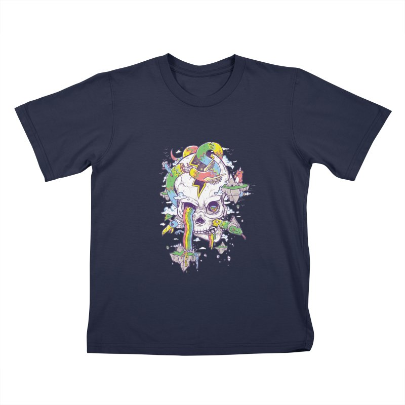 Flying Rainbow Skull Island    by Jonah Makes Art