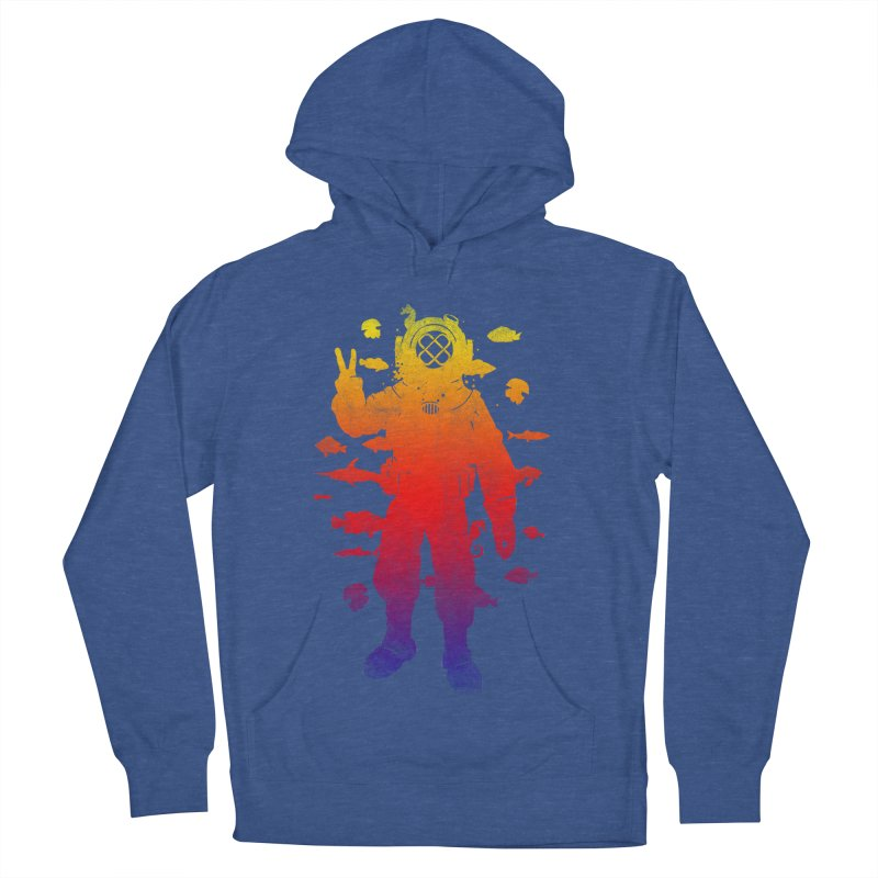 Peace Diver Women's Pullover Hoody by Jonah Makes Art