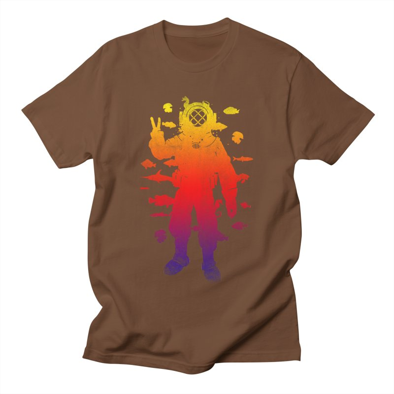 Peace Diver Men's T-Shirt by Jonah Makes Art