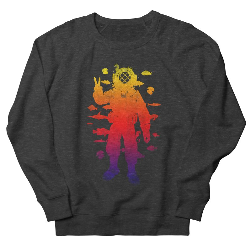 Peace Diver Women's Sweatshirt by Jonah Makes Art