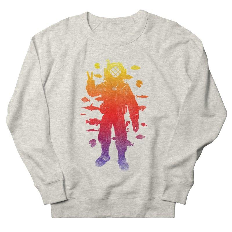 Peace Diver Men's Sweatshirt by Jonah Makes Art
