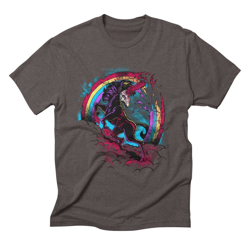 Murdercorn Men's Triblend T-Shirt by Jonah Makes Art