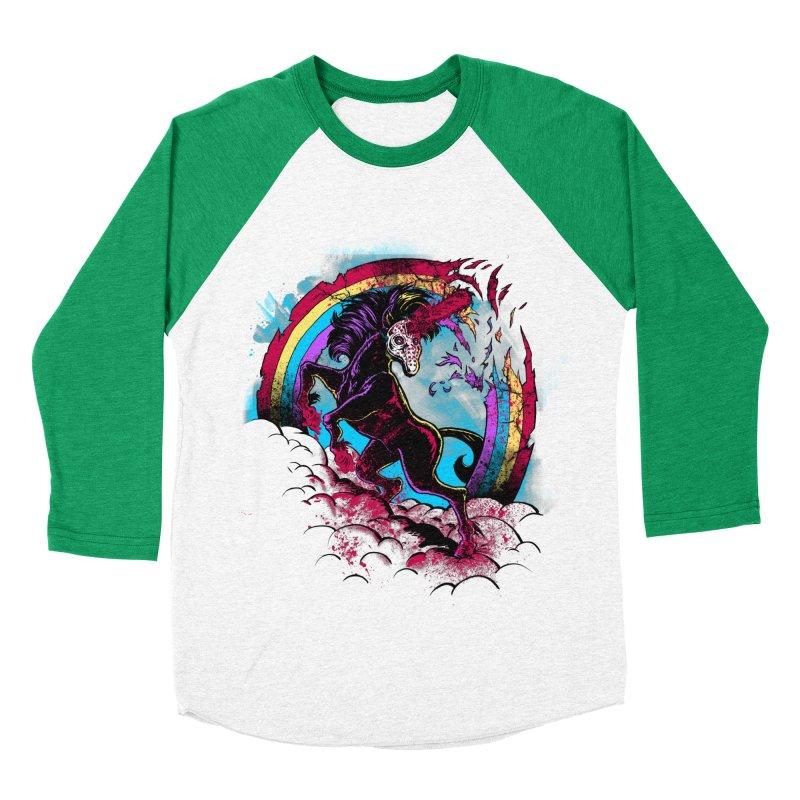 Murdercorn Women's Baseball Triblend T-Shirt by Jonah Makes Art