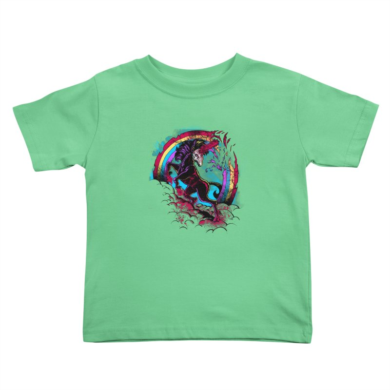 Murdercorn Kids Toddler T-Shirt by Jonah Makes Art