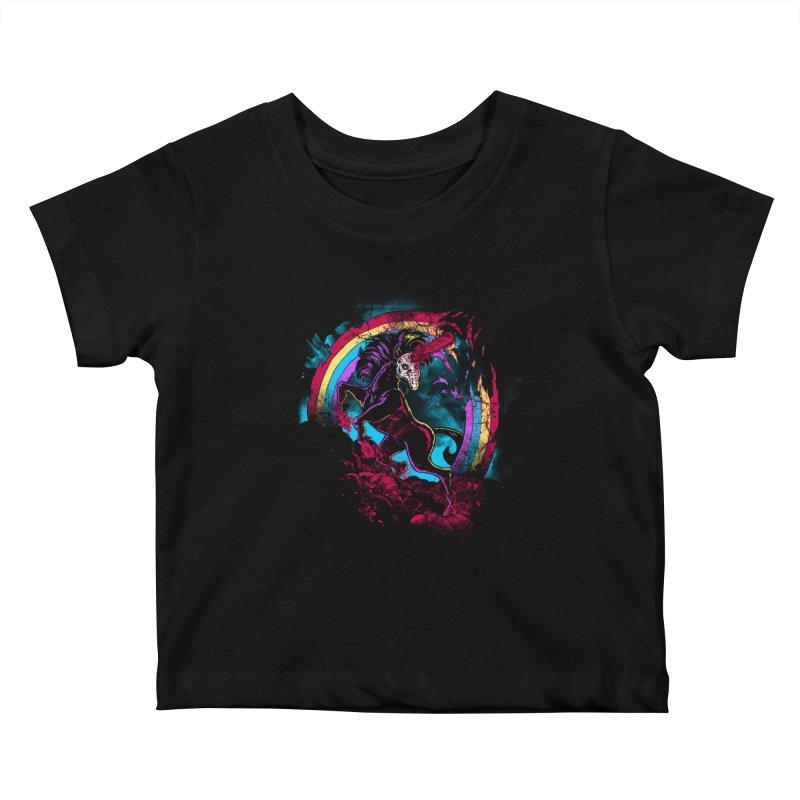 Murdercorn Kids Baby T-Shirt by Jonah Makes Art