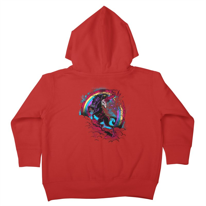 Murdercorn Kids Toddler Zip-Up Hoody by Jonah Makes Art