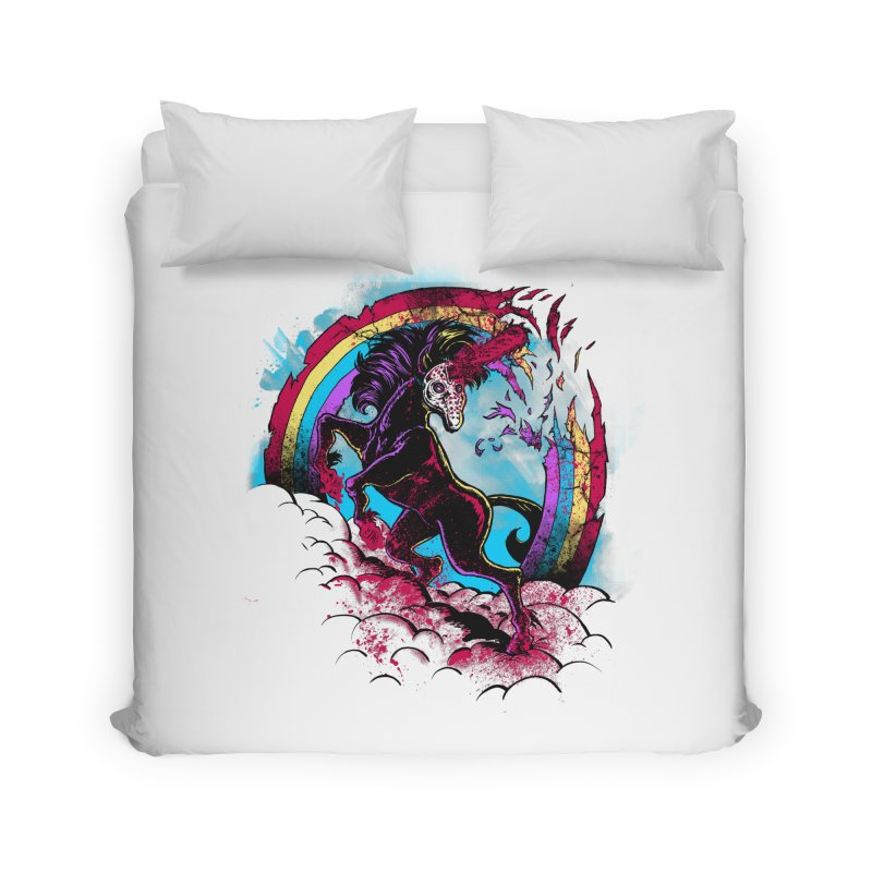 Murdercorn Home Duvet by Jonah Makes Art