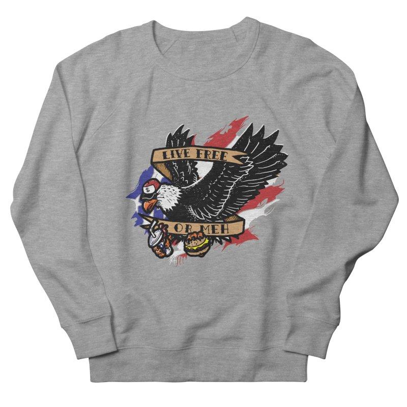 America the Meh Men's Sweatshirt by Jonah Makes Art