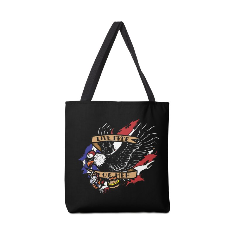 America the Meh Accessories Bag by Jonah Makes Art