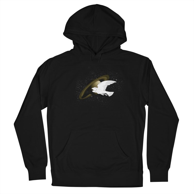 spacebird Men's Pullover Hoody by Jonah Makes Art