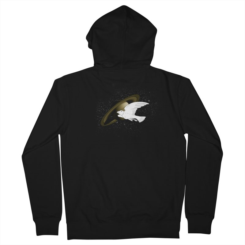spacebird Women's Zip-Up Hoody by Jonah Makes Art