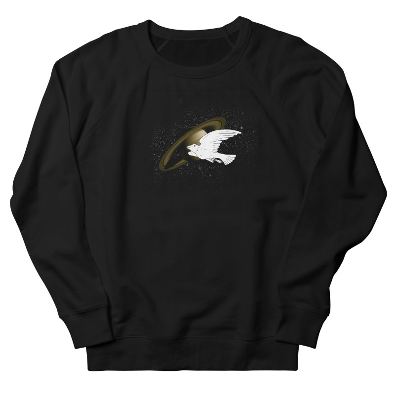 spacebird Women's Sweatshirt by Jonah Makes Art