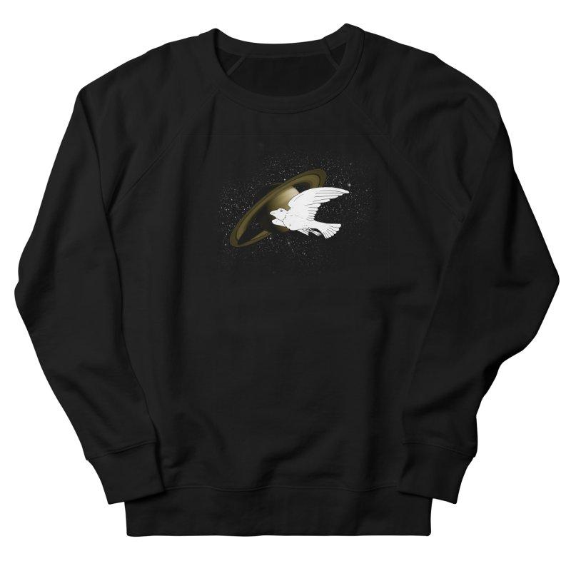 spacebird Men's Sweatshirt by Jonah Makes Art
