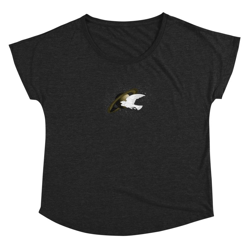 spacebird Women's Dolman by Jonah Makes Art