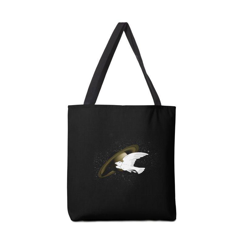 Spacebird Accessories Bag by Jonah Makes Art