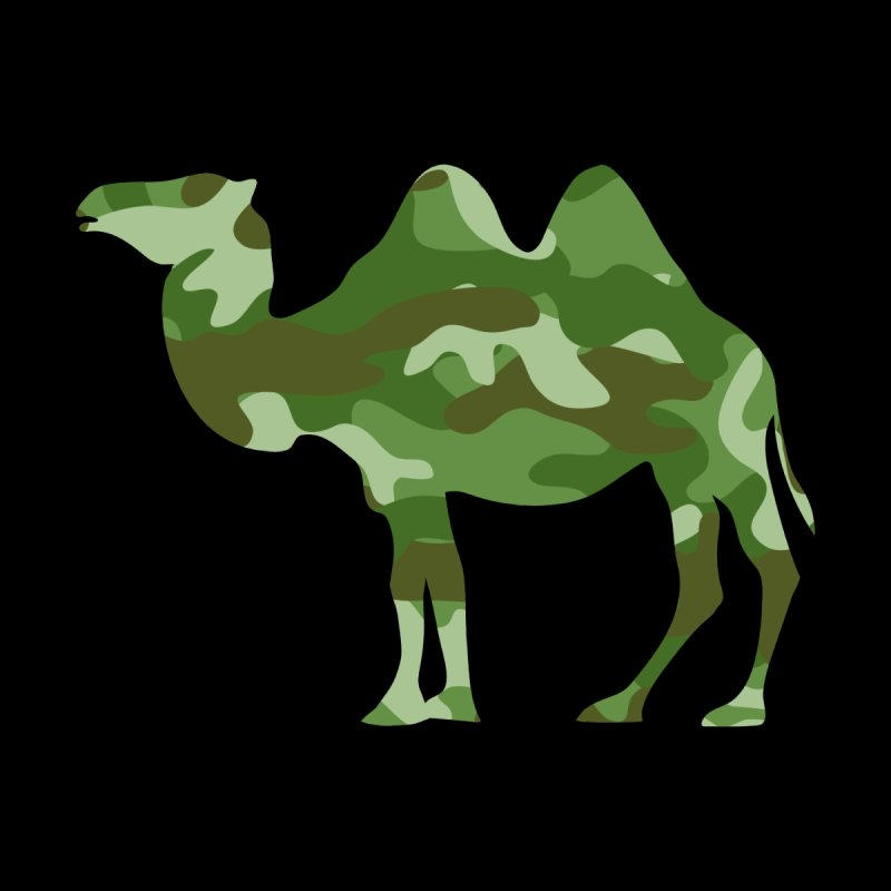 Camelflauge   by Jonah Makes Art