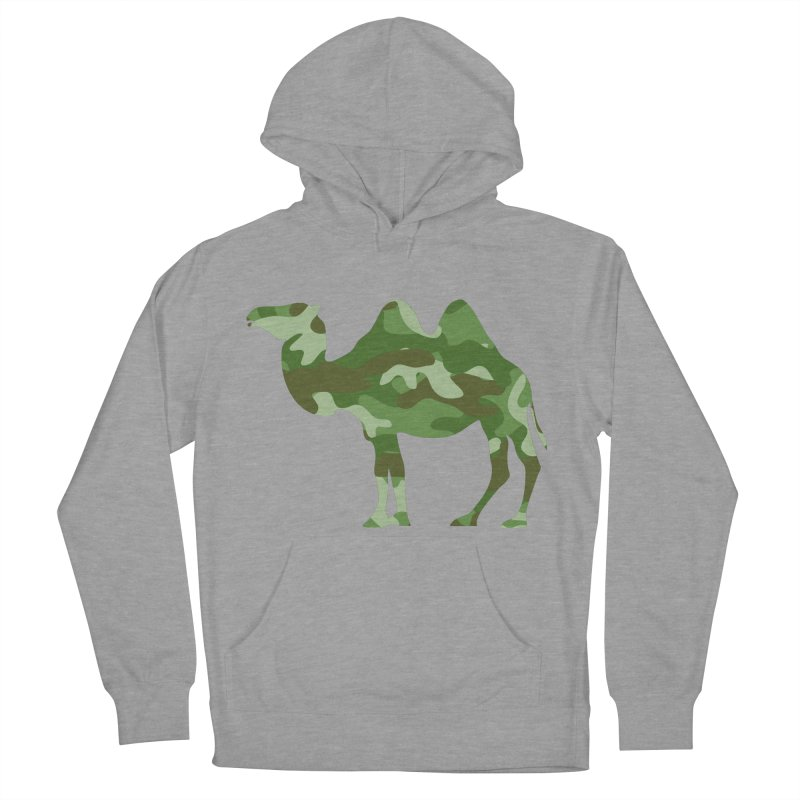 Camelflage Women's Pullover Hoody by Jonah Makes Art