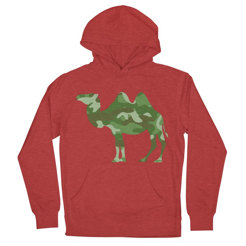 Camelflauge Women's Pullover Hoody by Jonah Makes Art