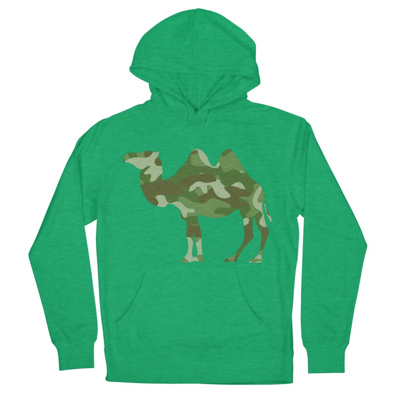 Camelflauge Men's Pullover Hoody by Jonah Makes Art