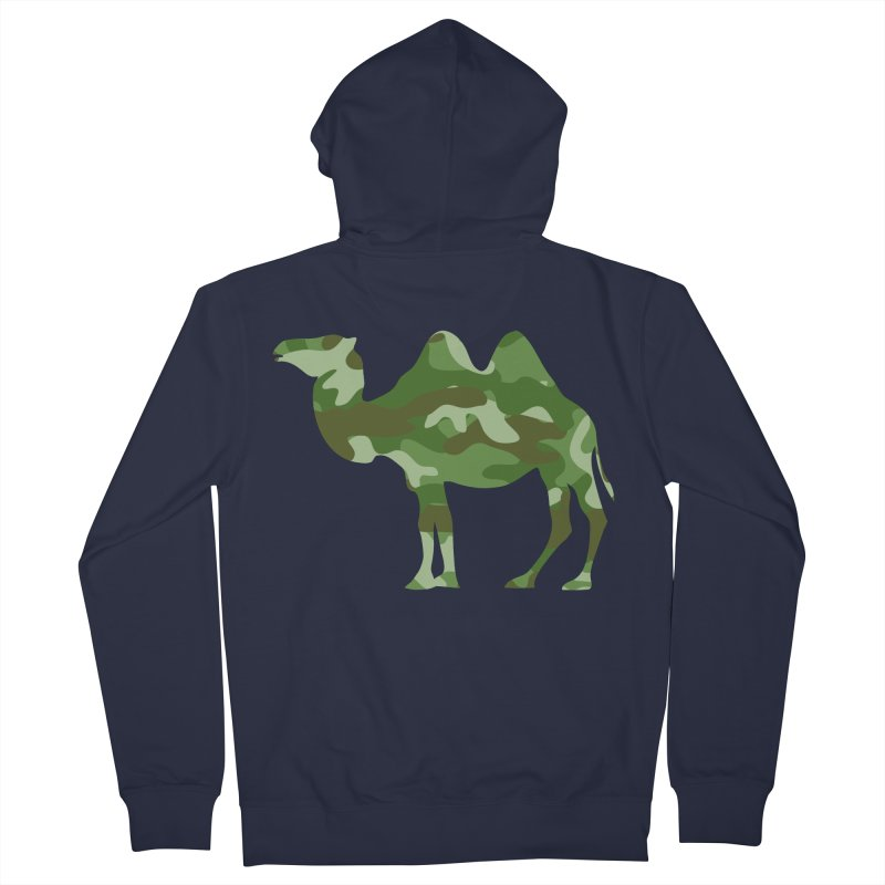 Camelflauge Women's Zip-Up Hoody by Jonah Makes Art
