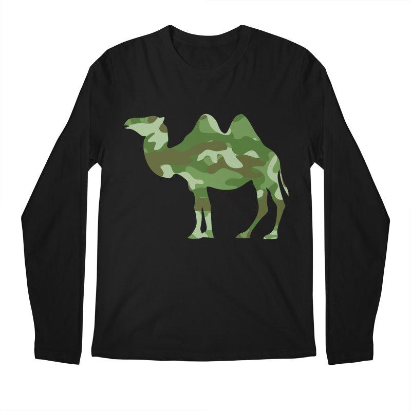 Camelflauge Men's Longsleeve T-Shirt by Jonah Makes Art