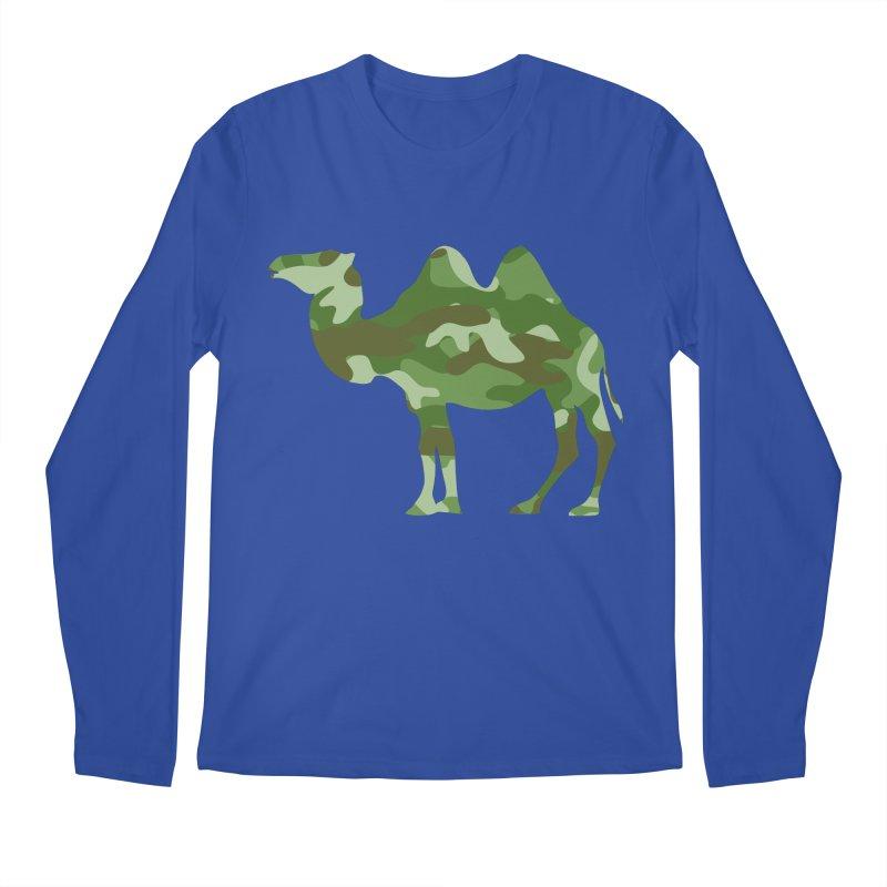Camelflage Men's Longsleeve T-Shirt by Jonah Makes Art