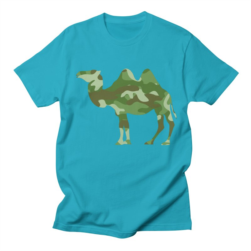 Camelflage Men's T-Shirt by Jonah Makes Art